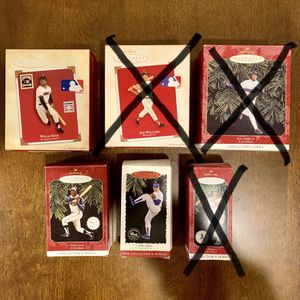 MLB Hallmark Christmas Ornaments - Shipping Included for Sale in Buffalo, NY