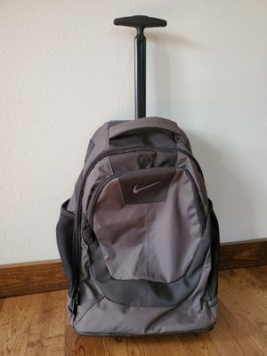 Nike rolling wheeled backpack for Sale in Kent, WA
