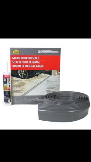M-D Building Products10 ft. Gray Garage Door Threshold Kit for Sale in Phoenix, AZ