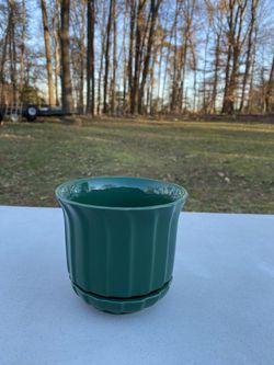 NEW Hunter Green Flower Pot for Sale in Fairfax,  VA