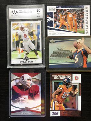 Denver Broncos Football Card Lot - Bradley Chubb John Elway Jay Cutler Phillip Lindsey ROOKIES - Packs for Sale in Tampa, FL