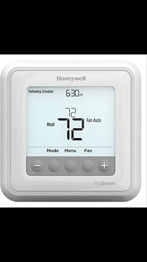 New digital programmable thermostat installed... for Sale in Tampa, FL