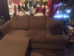 Suede couch for Sale in Abilene, TX