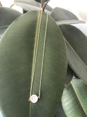 White Druzy Stone Necklace for Sale in Santa Monica, CA