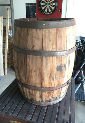 Original Hickory Wine/Moonshine barrel primitive for Sale in Brunswick, OH