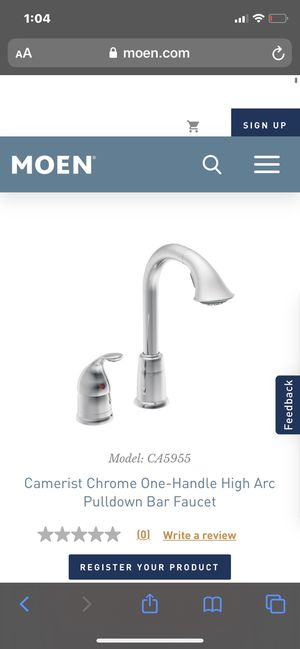 Brand new Moen Bar and kitchen faucet for Sale in Orlando, FL