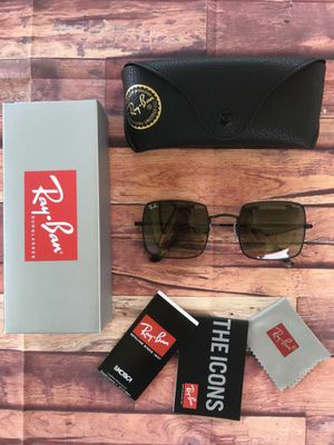 BRAND NEW AUTHENTIC RAY BAN SQUARE😍 for Sale in Rialto, CA