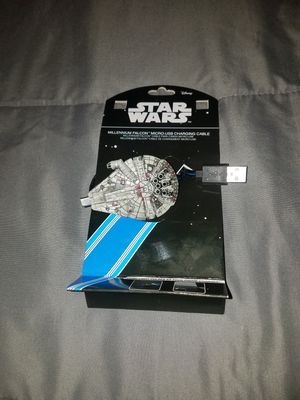 Illuminating Millennium Falcon Micro USB Charging Cable for Sale in TN, US
