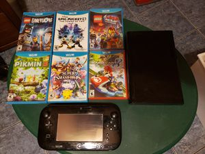 Nintendo Wii u console and games for Sale in Houston, TX
