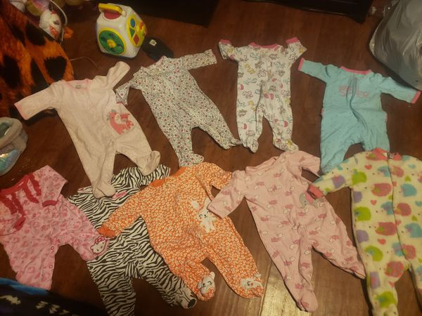 Baby girl 0-3 months clothes lot ❤ 19 pieces. gently used