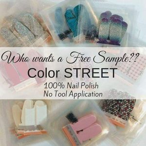 Free color street samples for Sale in Lexington, SC
