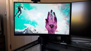 Aorus 165hz 1080p 27in Curved Gaming Monitor for Sale in Los Angeles, CA