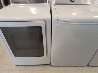 Whirlpool Tap Load Washer And Electric Dryer Mix And Match Set Used In Good Condition With 90day's Warranty for Sale in Mount Rainier,  MD