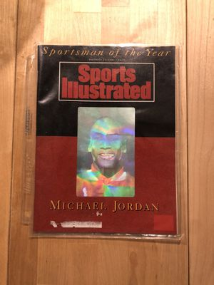 Jordan vintage collectible sports illustrated for Sale in Los Angeles, CA