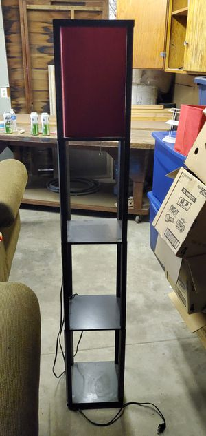 Lamp with shelves for Sale in Fresno, CA