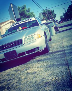 00 Audi A4 1.8t tune stage 2 16 psi clean title pink in hand no overheating probs no leaking nothing for Sale in San Jacinto, CA