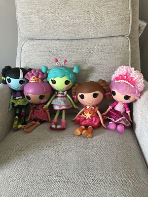 Lalaloopsy dolls set of 5 for Sale in West Sacramento, CA