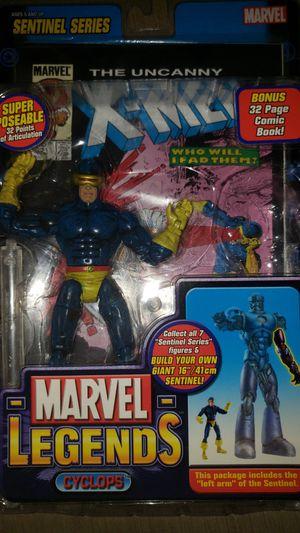 Marvel Legends Xmen Cyclops No Apocalypse Baf for Sale in Chicago, IL