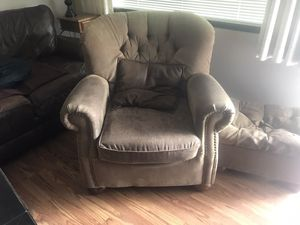 Sofa Chair & Foot Stool for Sale in East Wenatchee, WA