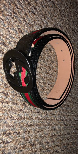 Black, red and green Gucci belt for Sale in Bloomfield, CT