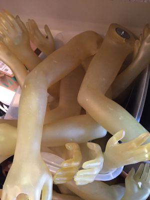 Male & female mannequin arms for Sale in Savannah, GA