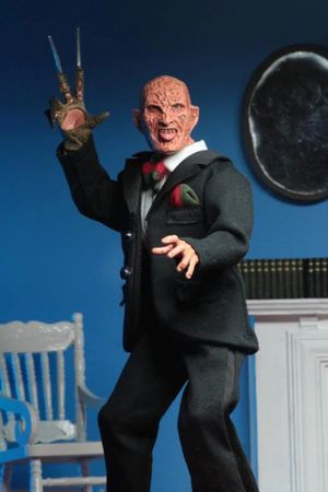 NECA Nightmare on Elm Street Part 3 Dream Warriors Tuxedo Freddy Krueger Clothed Action Figure for Sale in Laveen Village, AZ