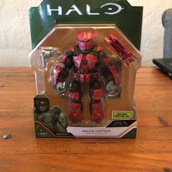 Halo Infinite Jazwares Series 1 Red Brute Captain action figure New for Sale in Puyallup,  WA