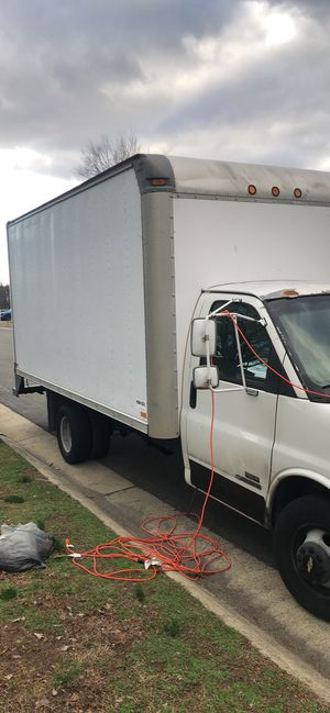 3500 Chevy express box truck for Sale in Richmond, VA