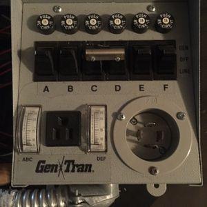 GenTran Honda 6 Circuit Transfer Switch for Sale in Ocala, FL