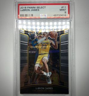 Panini 2018 LeBRON JAMES Psa 9 for Sale in Chino, CA