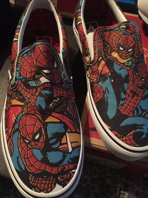 Vans Spider Man for Sale in Sanger, CA