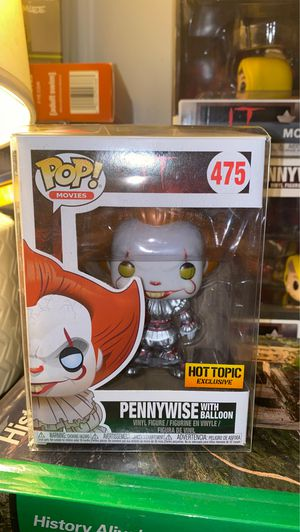 Pennywise with balloon hot topic exclusive funko! for Sale in Moreno Valley, CA
