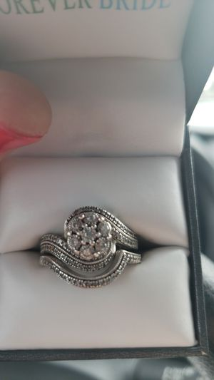 Forever bride wedding engagement ring for Sale in Shelbyville, TN