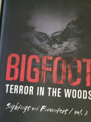 Bigfoot Terror in the woods vol 1 2 and 3 for Sale in Surprise, AZ