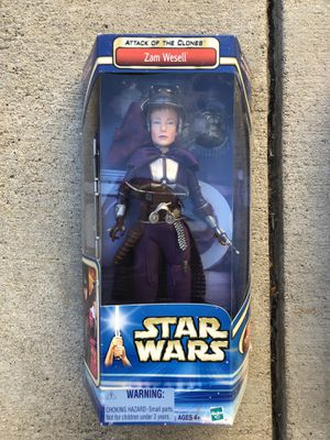 "Star Wars AOTC Zam Wesell 12"" action figure for Sale in Los Angeles, CA"