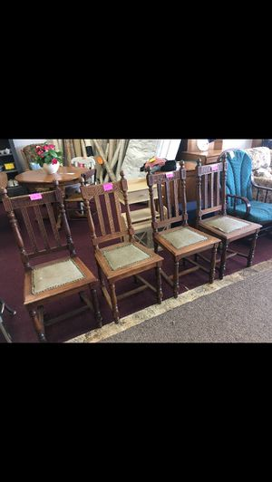 4 Chairs for Sale in Big Rapids, MI