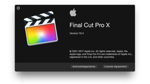 Final Cut Pro X video editing software for Sale in Hillsboro Beach, FL