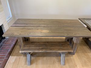 Farmhouse dinning table for Sale in Riverside, CA