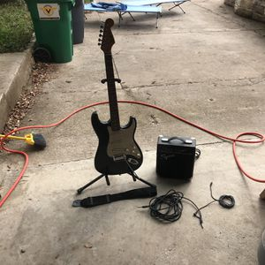 Electric Guitar And Amp for Sale in Austin, TX