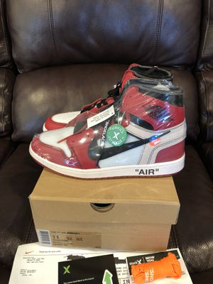 """The Ten: Air Jordan 1 x Off White """"Chicago"""" DS Size 11 for Sale in Westminster, CO"""