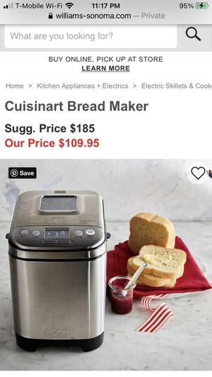 Brand New Cuisinart Bread Maker for Sale in South Pasadena, CA