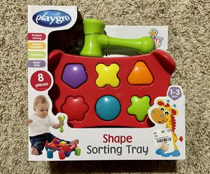 Playgro Shape Sorting Tray for Sale in Allen, TX