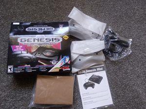 Sega Genesis Mini Classic w/2,350 games plus cheats for Sale in Hanover, MD