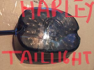 Harley Davidson led smoke taillight with signal strength for Sale in Los Angeles, CA