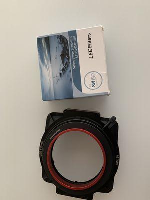 Lee Filters SW150 Mark ll lens adaptor 77 mm adaptor for Sale in Seattle, WA