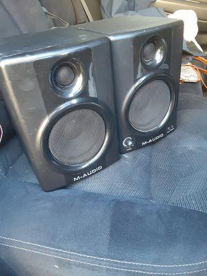 M audio studio speakers for Sale in Blue Island, IL