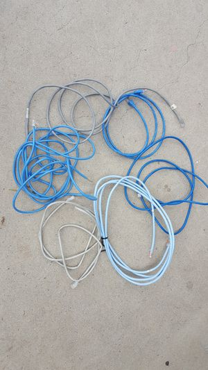 Ethernet Cables $15 each or $60 for all for Sale in Norco, CA