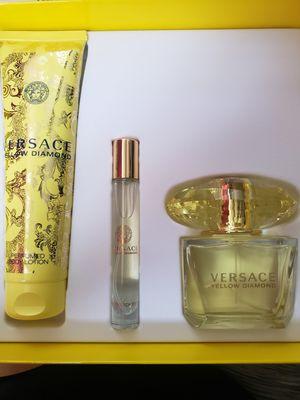 Versace yellow diamond set for Sale in Lynwood, CA
