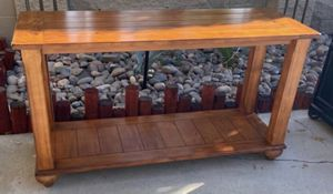 2-Tier Wood Console/Sofa Table for Sale in Palm Desert, CA