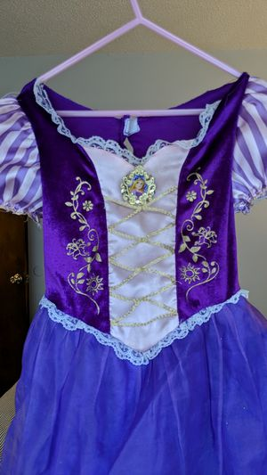 Princess Rapunzel 4T dress for Sale in Lacey, WA